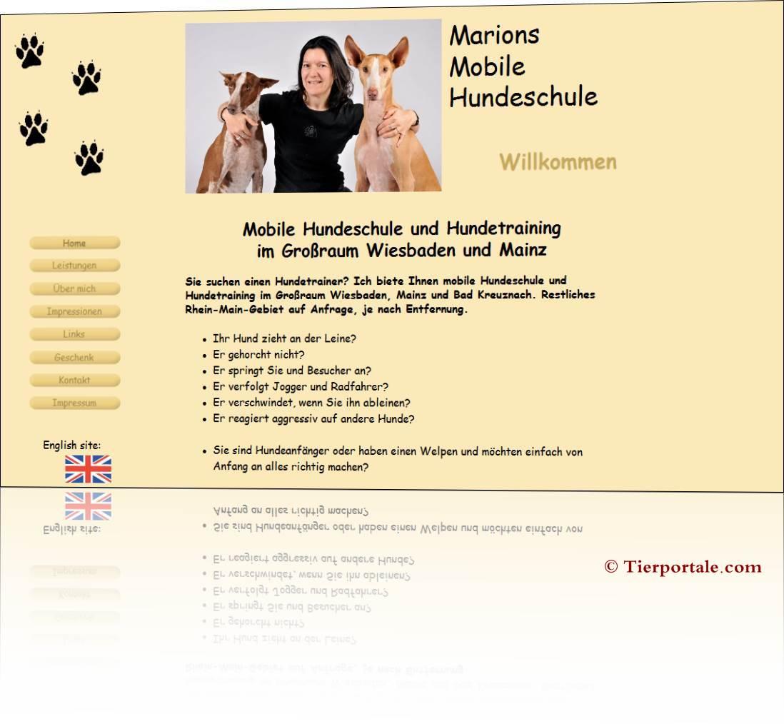 Marions Mobile Hundeschule Wiesbaden und Mainz
