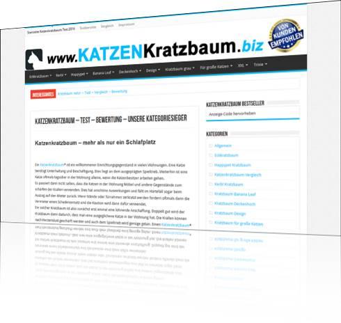 Katzenkratzbaum - Test - Vergleich - Bewertung