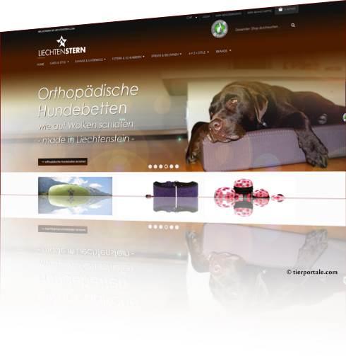 Hundeshop Liechtenstern.com - Wohlfühl-Luxus auf 4 Pfoten