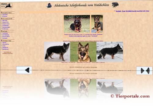 Hunde Altdeutsche Schäferhunde vom Waldschloss
